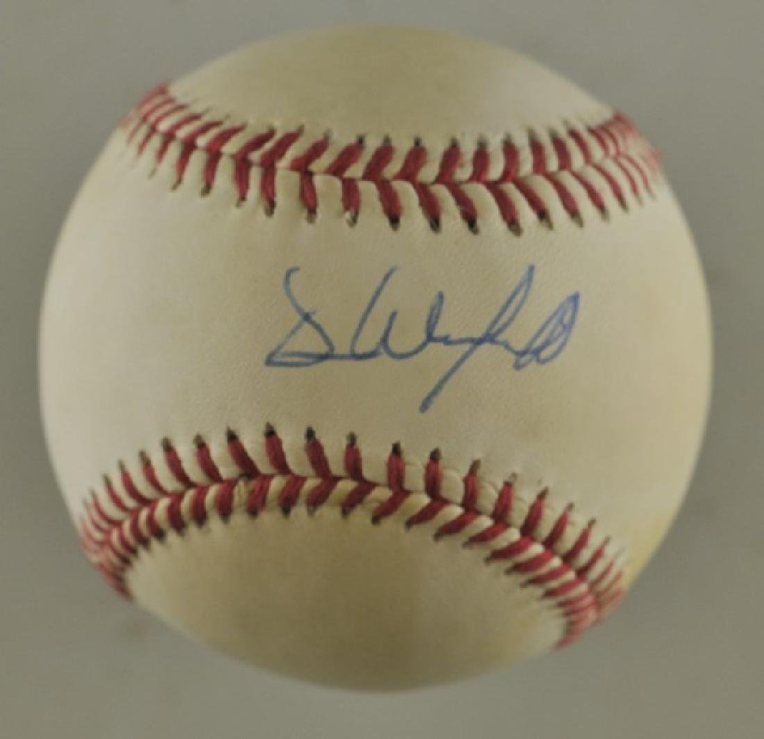 Signed Dave Winfield World Series Baseball