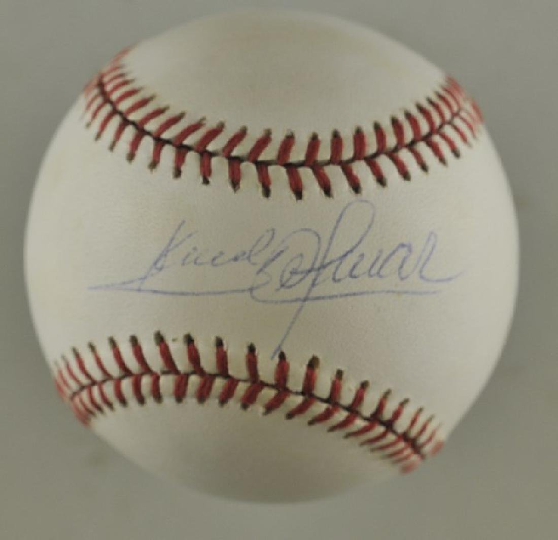 Signed Sandy Alomar Baseball
