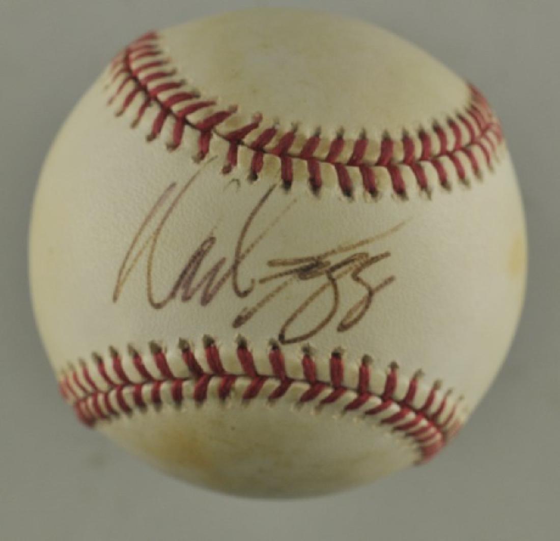 Signed Wade Boggs Baseball