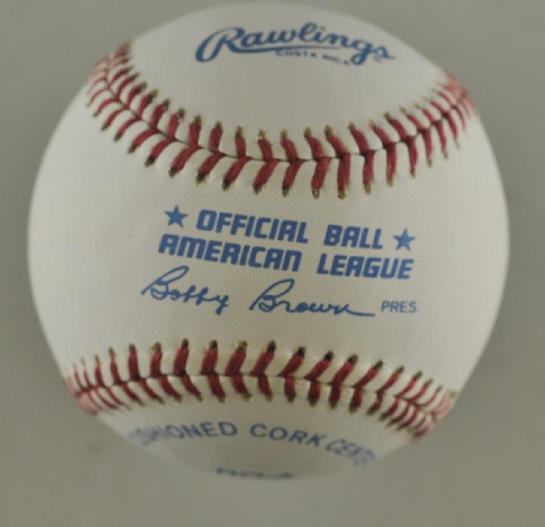 Signed Yogi Berra Baseball - 2