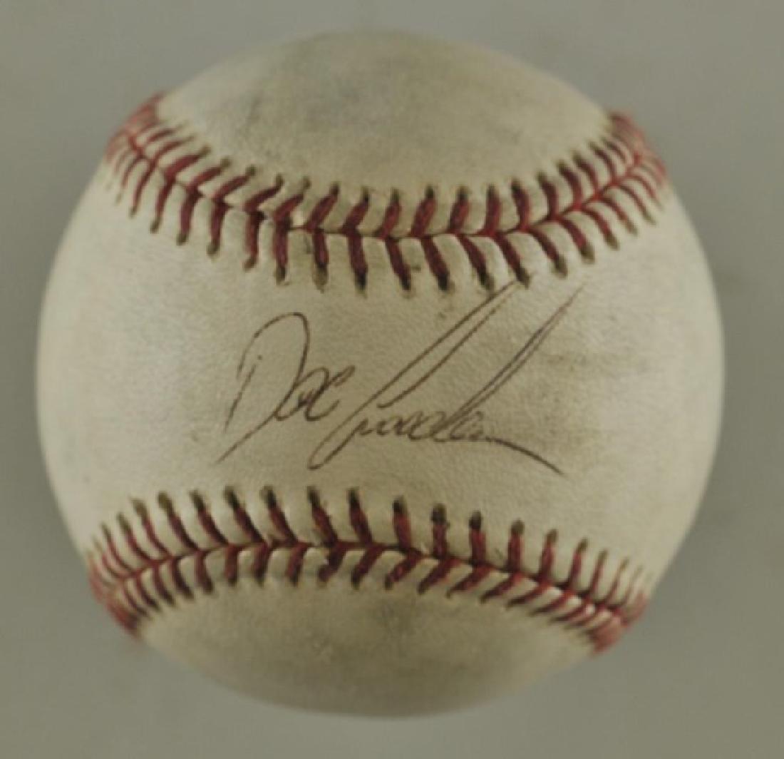 "Signed Dwight ""Doc"" Gooden Baseball"