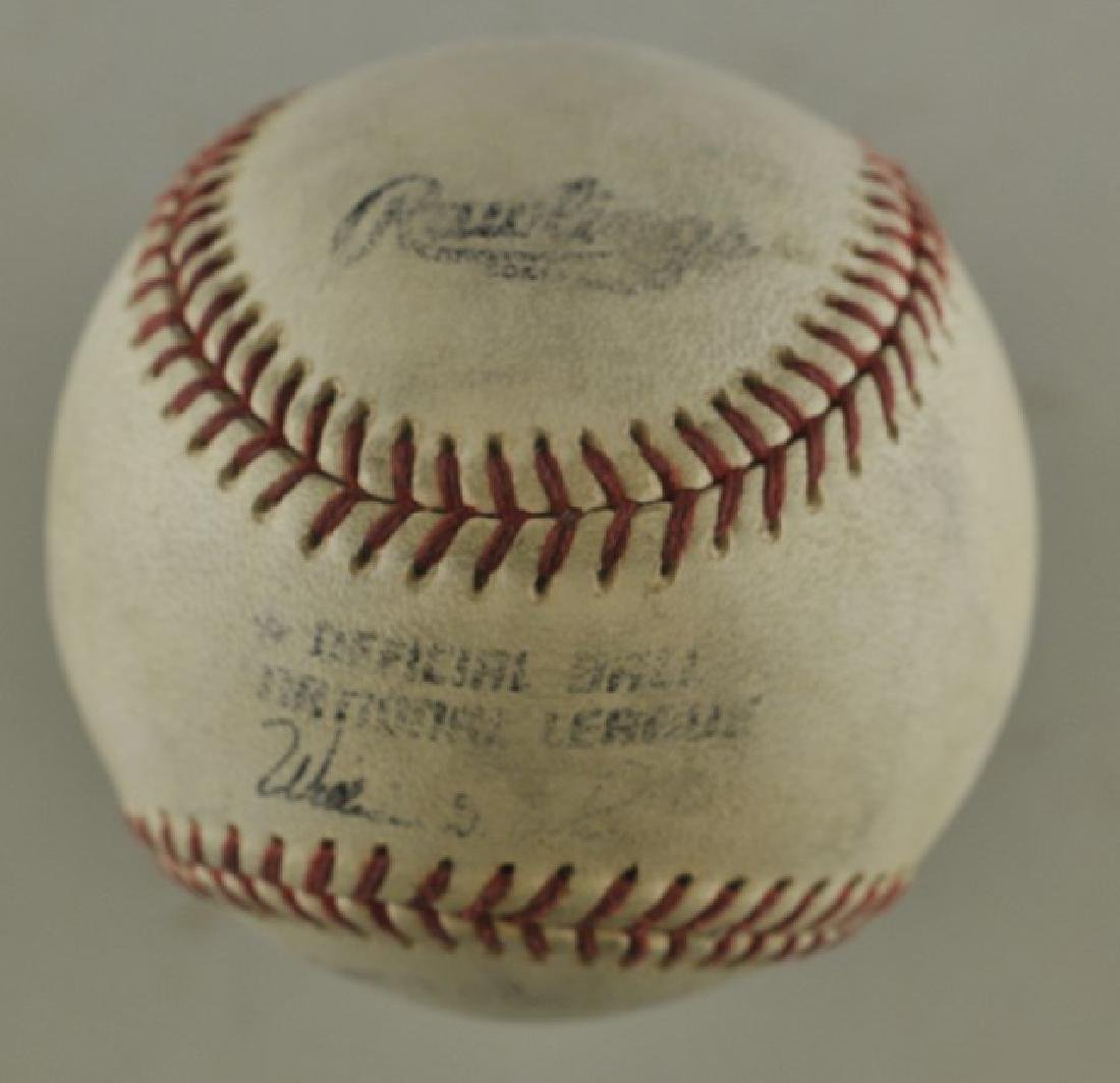 "Signed Dwight ""Doc"" Gooden Baseball - 2"