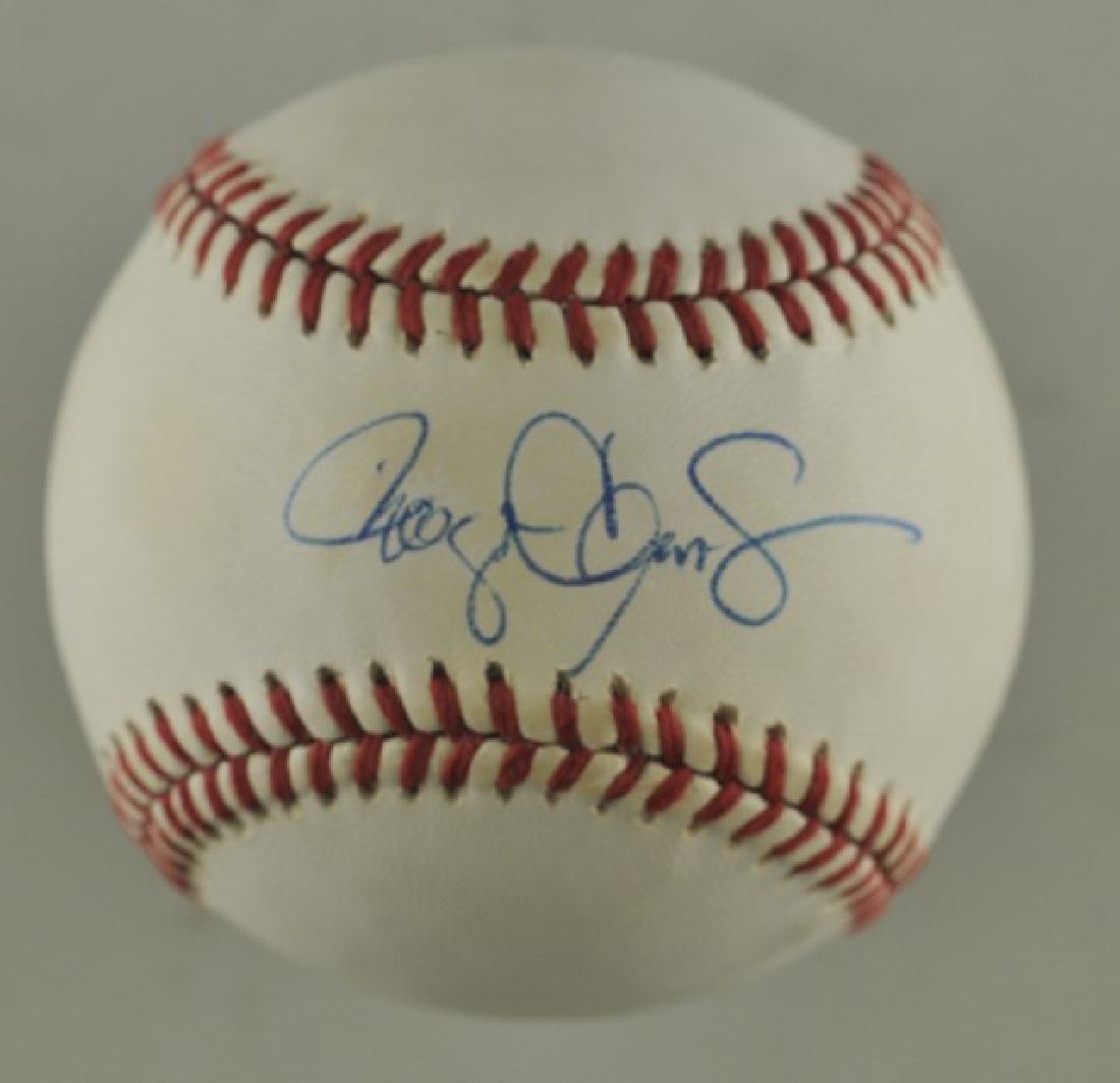 Signed Roger Clemens Baseball