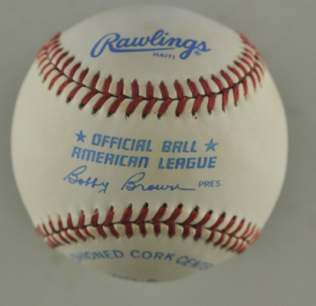 Signed Roger Clemens Baseball - 2