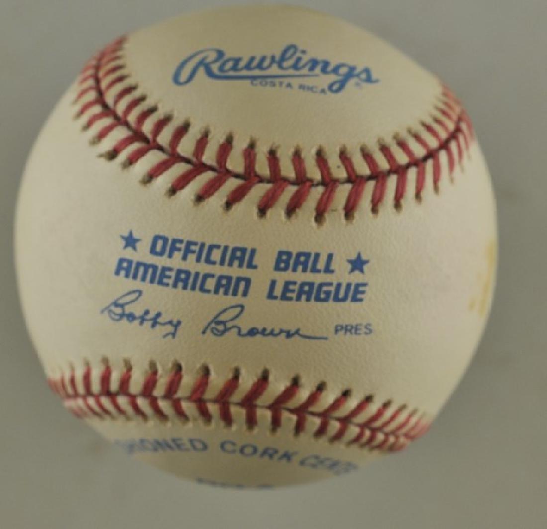 Signed Juan Gonzalez Baseball - 2