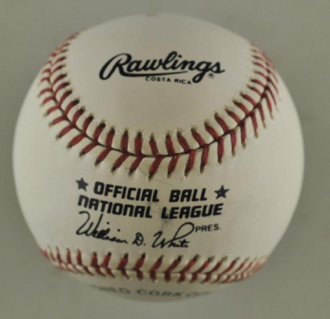 Signed Rob Dibble Baseball - 2