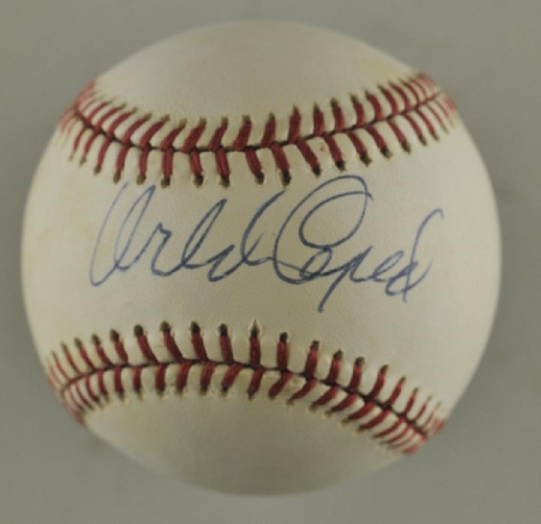 Signed Orlando Cepeda Baseball