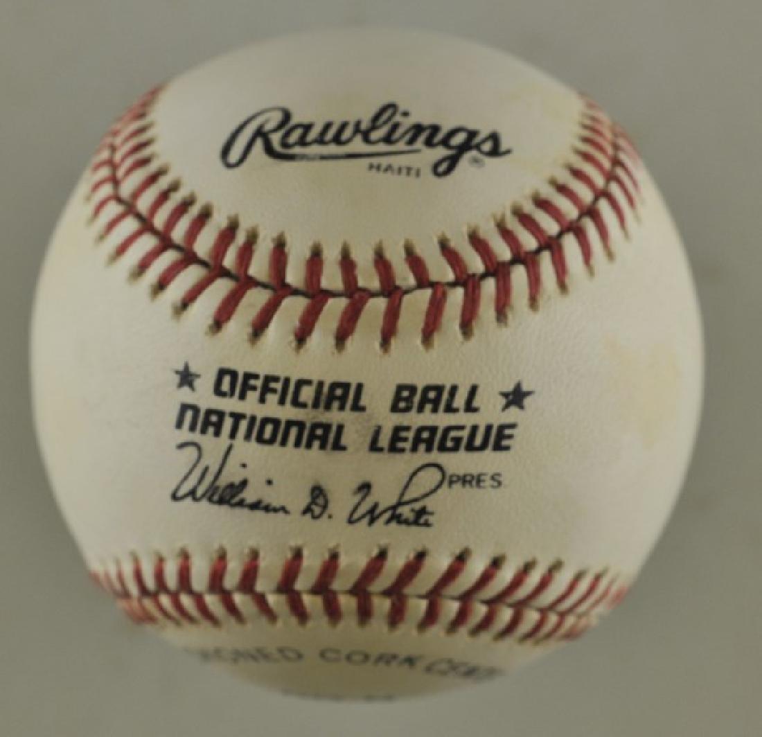 Signed Orlando Cepeda Baseball - 2