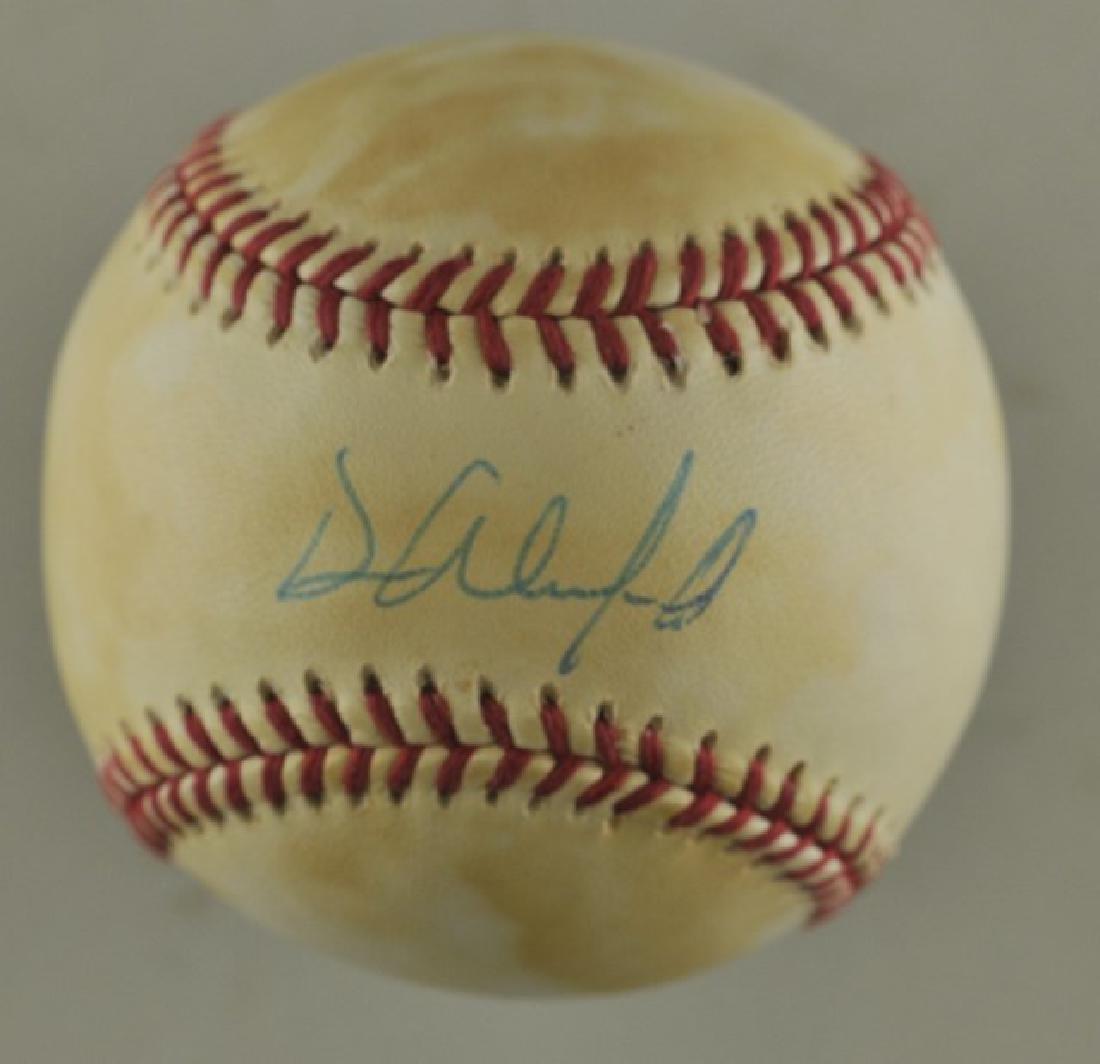 Signed Dave Winfield Baseball