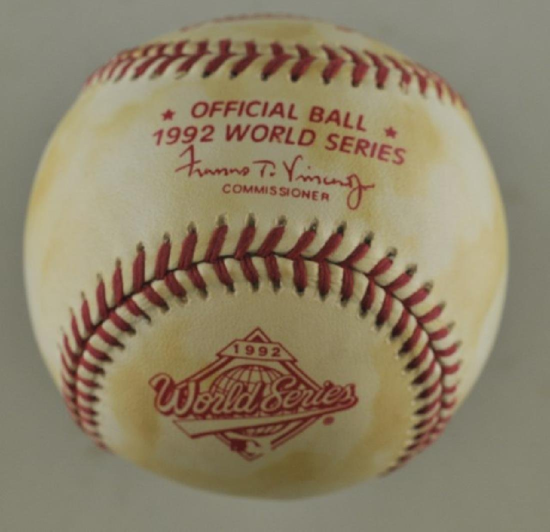 Signed Dave Winfield Baseball - 2