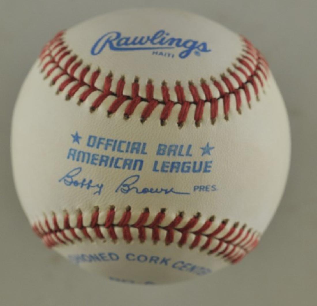 Signed Frank Thomas Baseball - 2