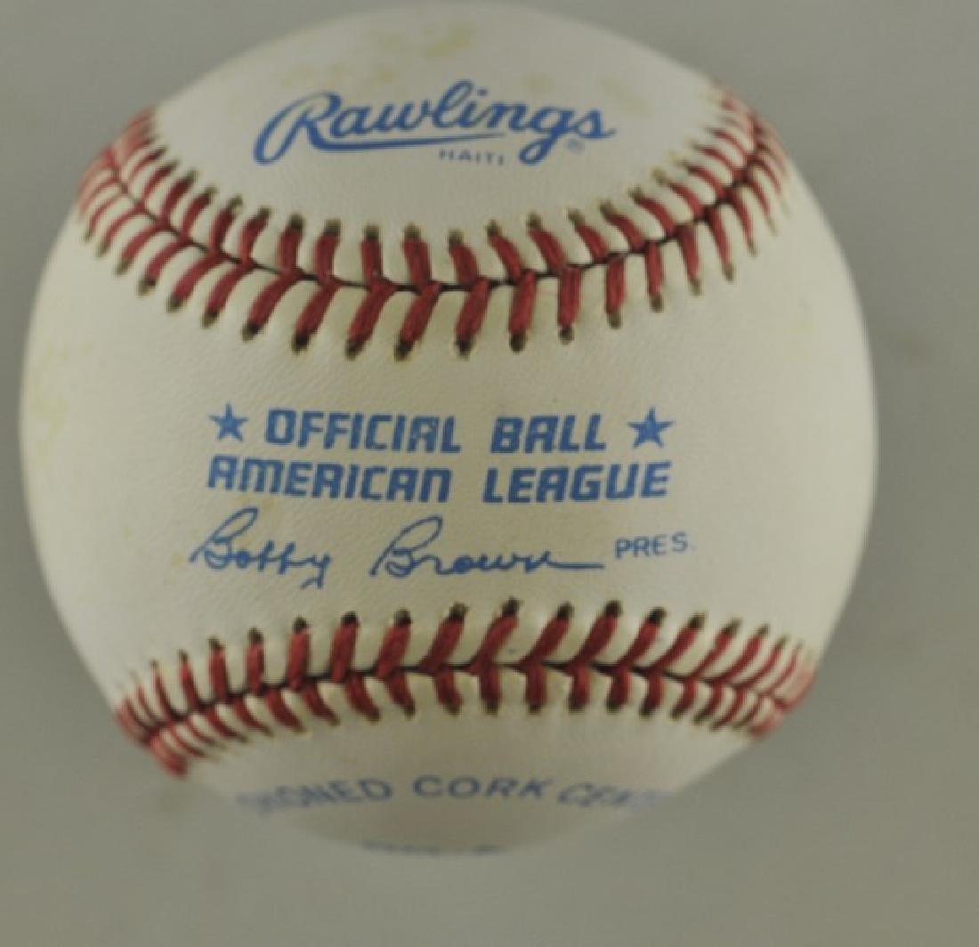 Signed Ted Williams Baseball - 2