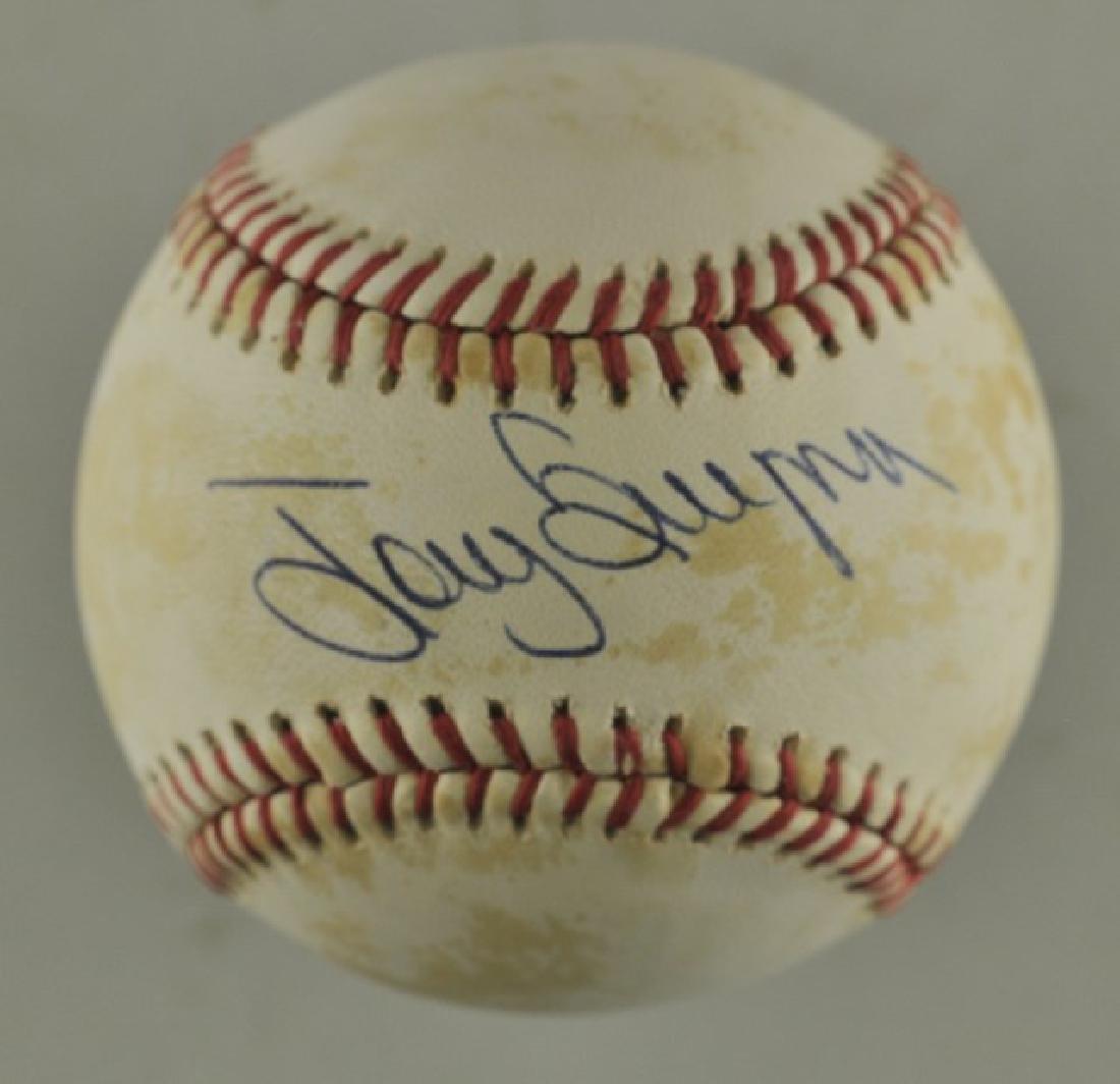 Signed Tony Gwynn Baseball