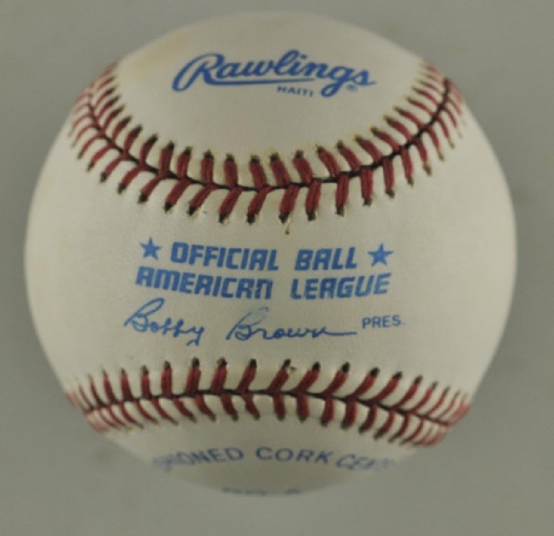 Signed Ted Williams Baseball - 2