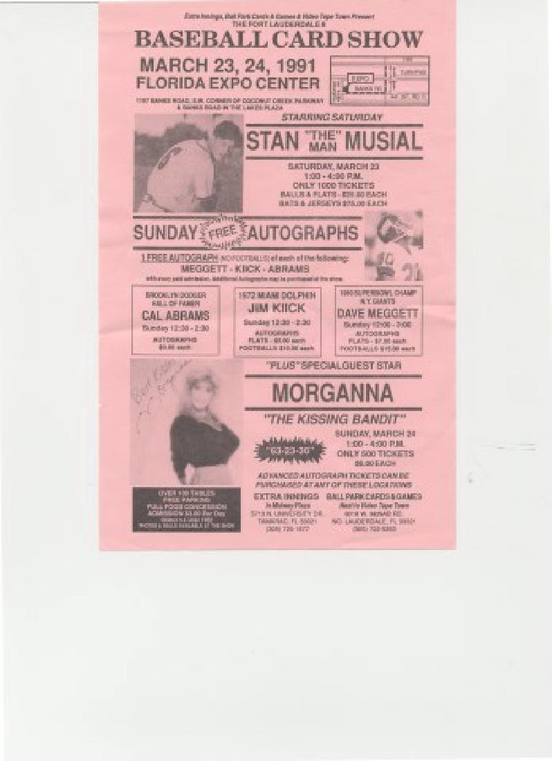 Signed Stan Musial Baseball - 3