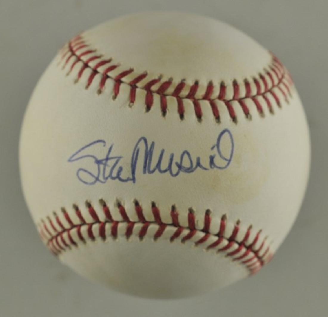 Signed Stan Musial Baseball