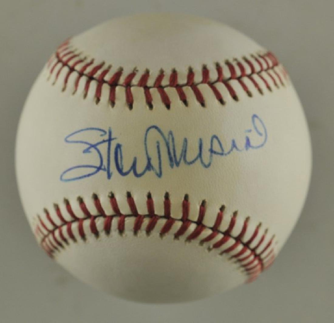 Signed Stan Musial Baseball