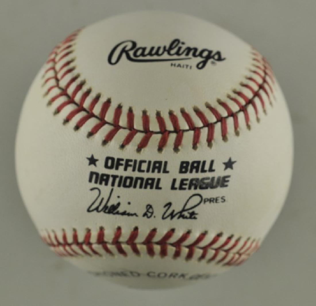 Signed Stan Musial Baseball - 2