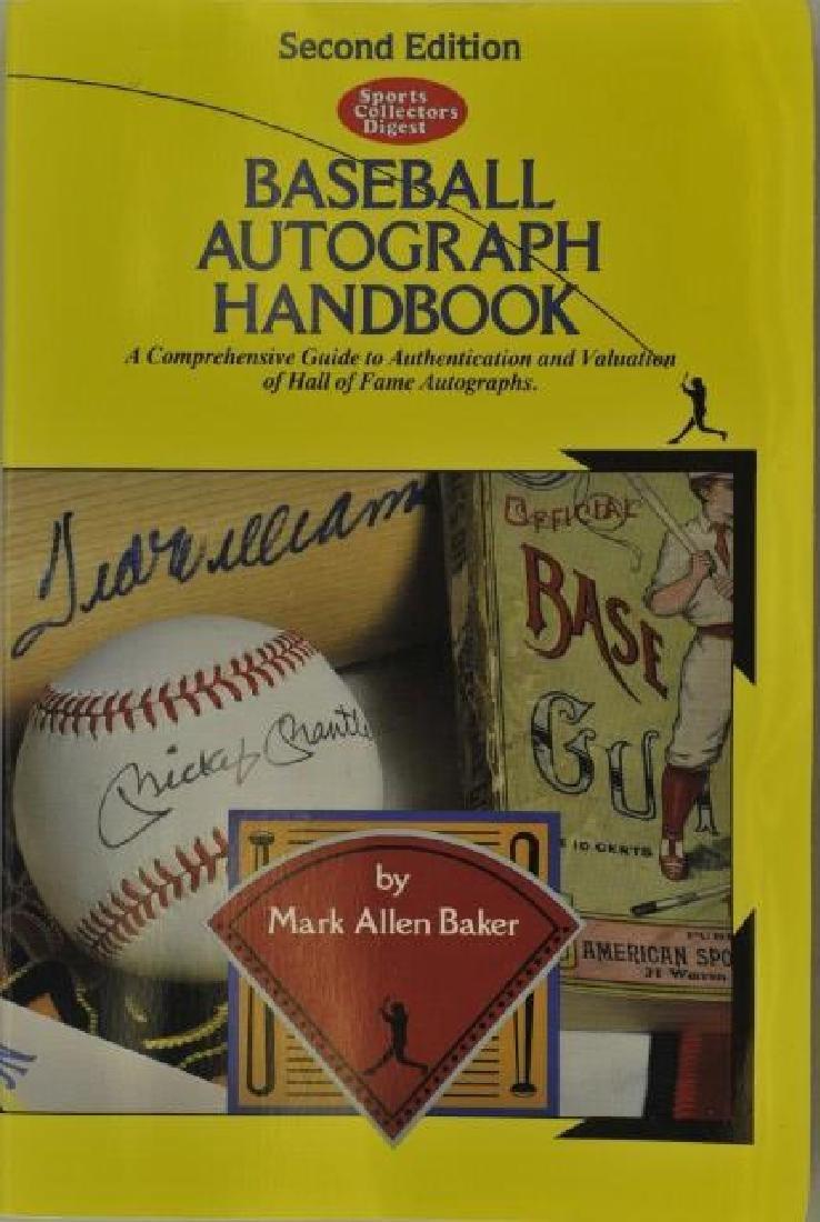 Baseball Autograph Handbook 2nd Edition