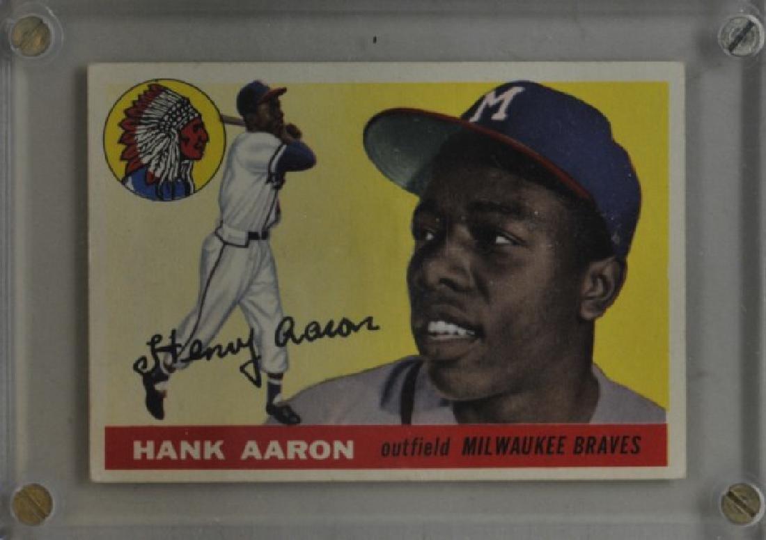 1955 Hank Aaron Topps #47 Baseball Card