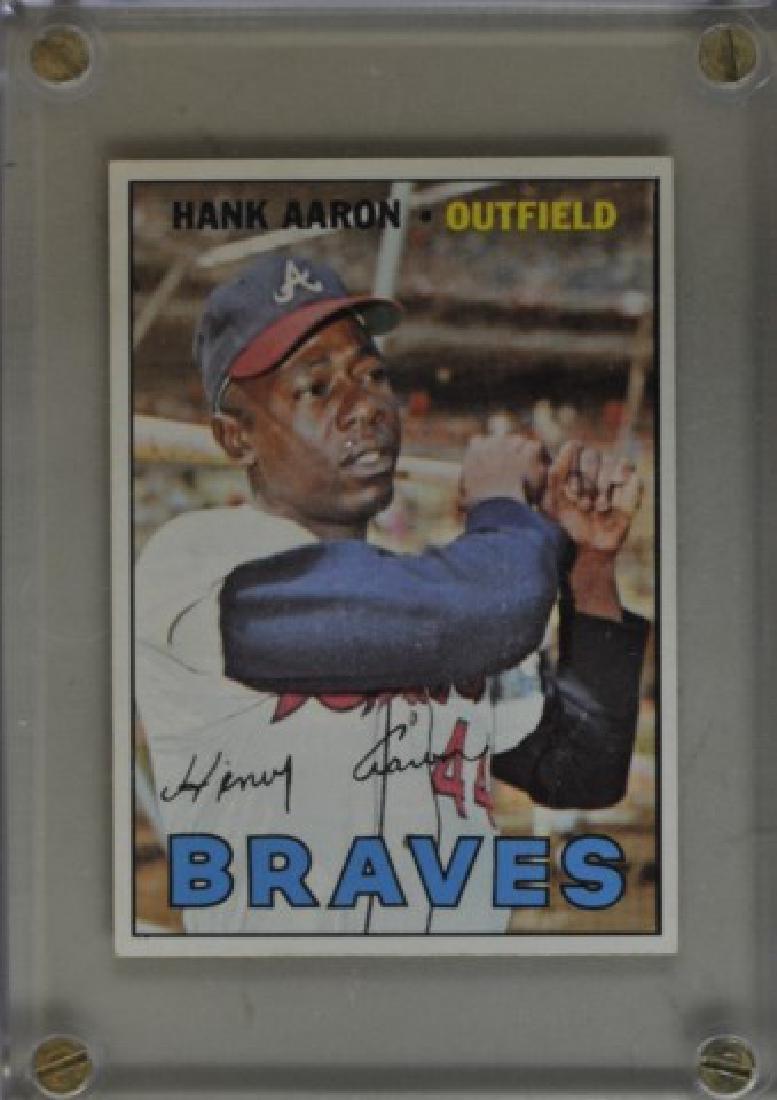 1967 Hank Aaron Topps #250 Baseball Card