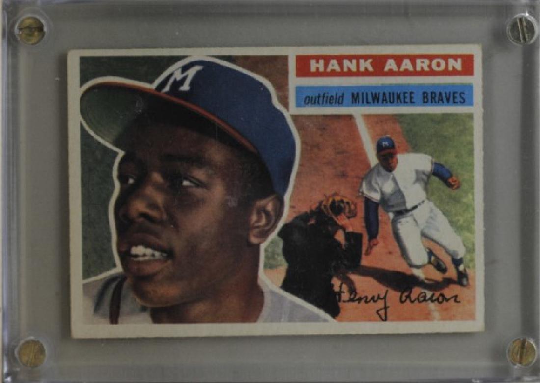 1956 Hank Aaron Topps #31 Baseball Card