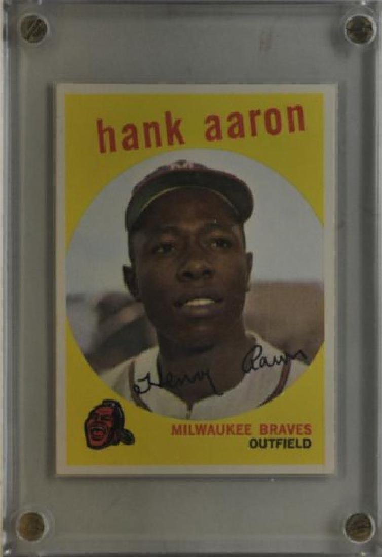 1959 Hank Aaron Topps #380 Baseball Card