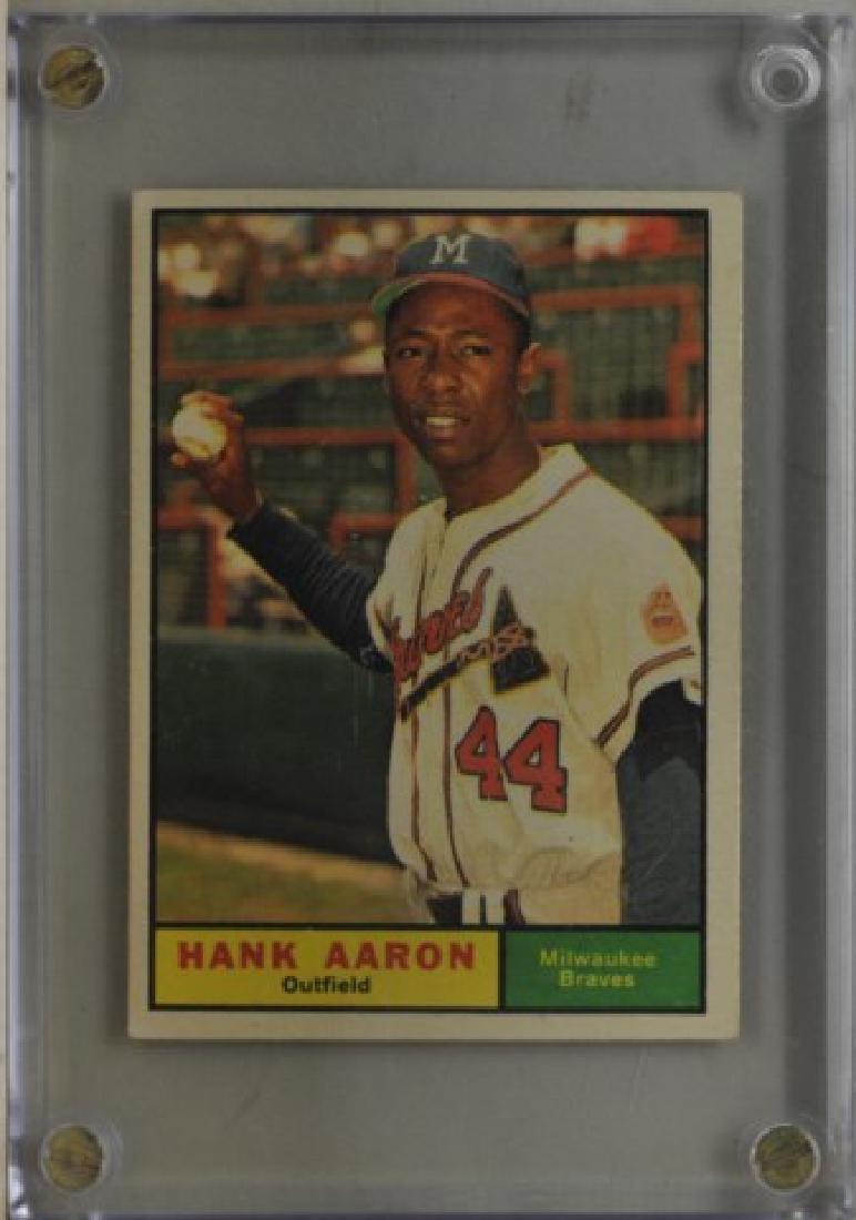 1961 Hank Aaron Topps #415 Baseball Card