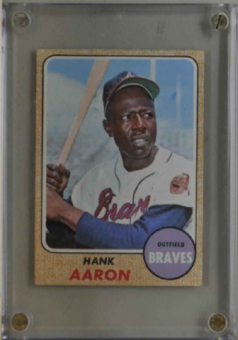 1968 Hank Aaron Topps #110 Baseball Card