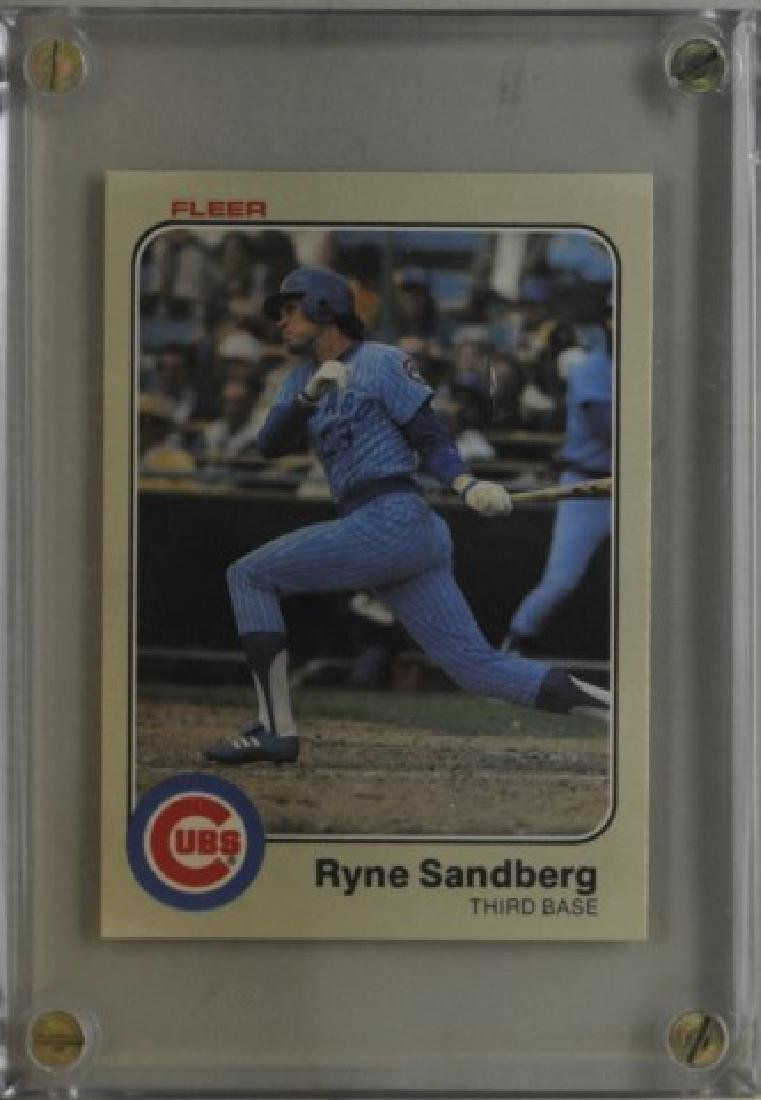 1983 Ryne Sandberg Fleer Baseball Card