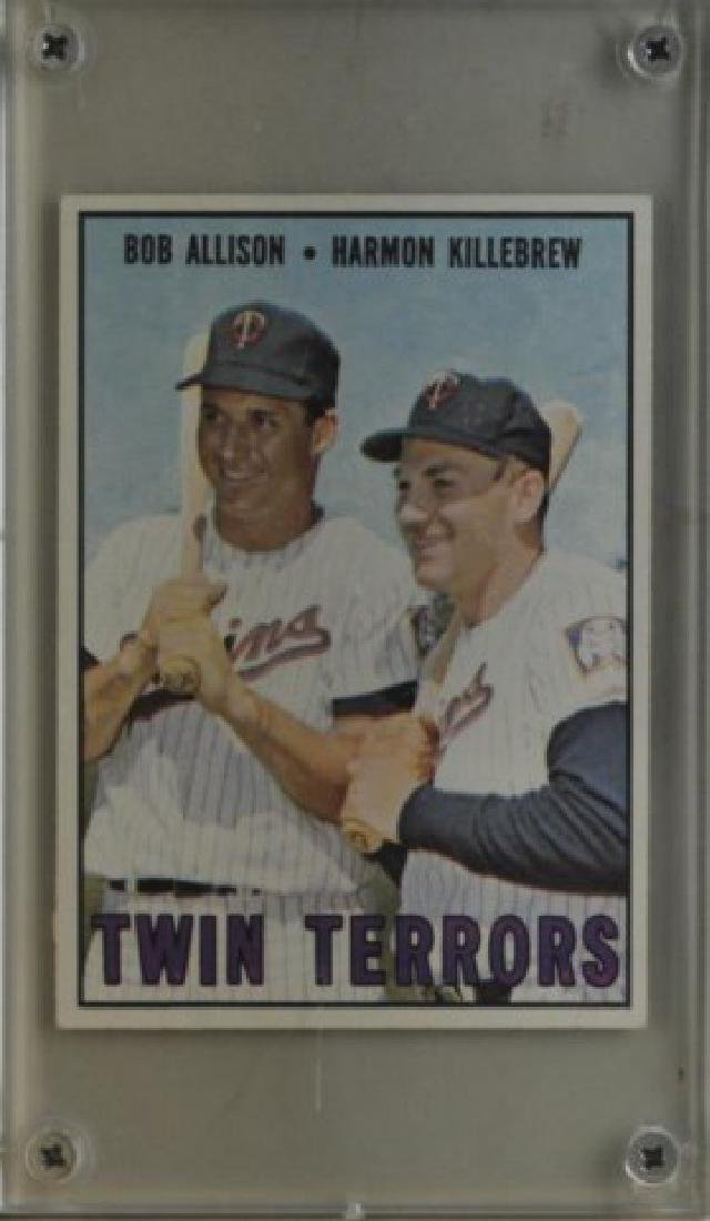 Bob Allison & Harmon Killebrew Topps Baseball Card