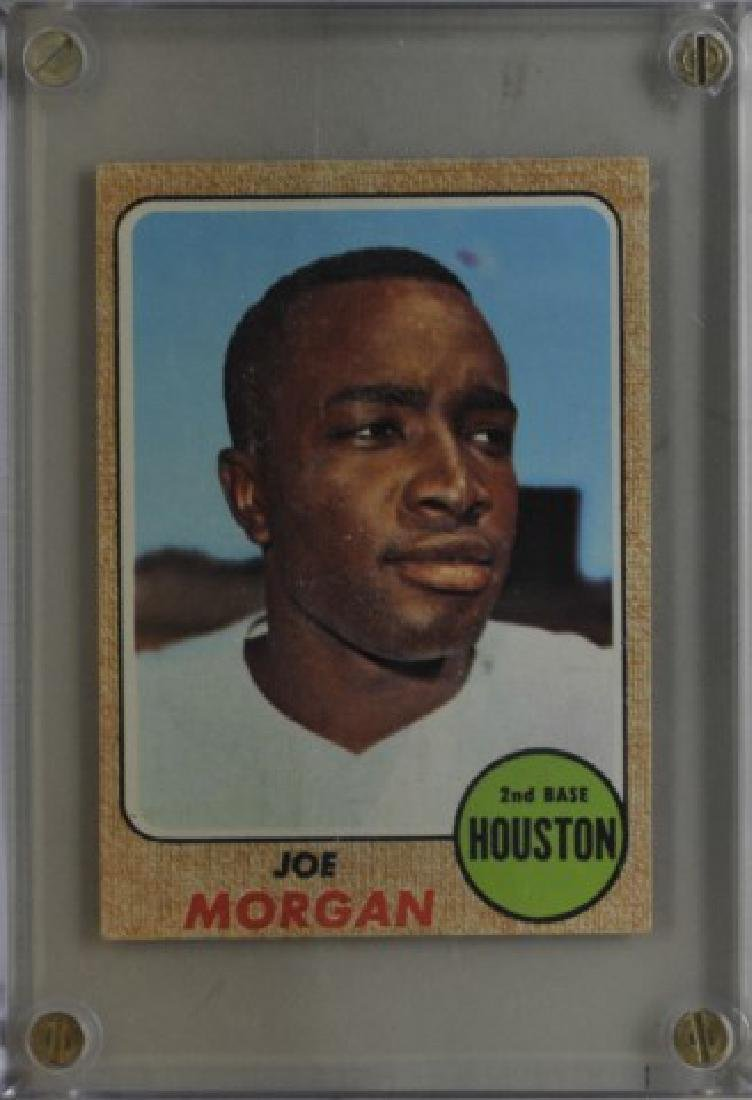 1968 Joe Morgan Topps Baseball Card