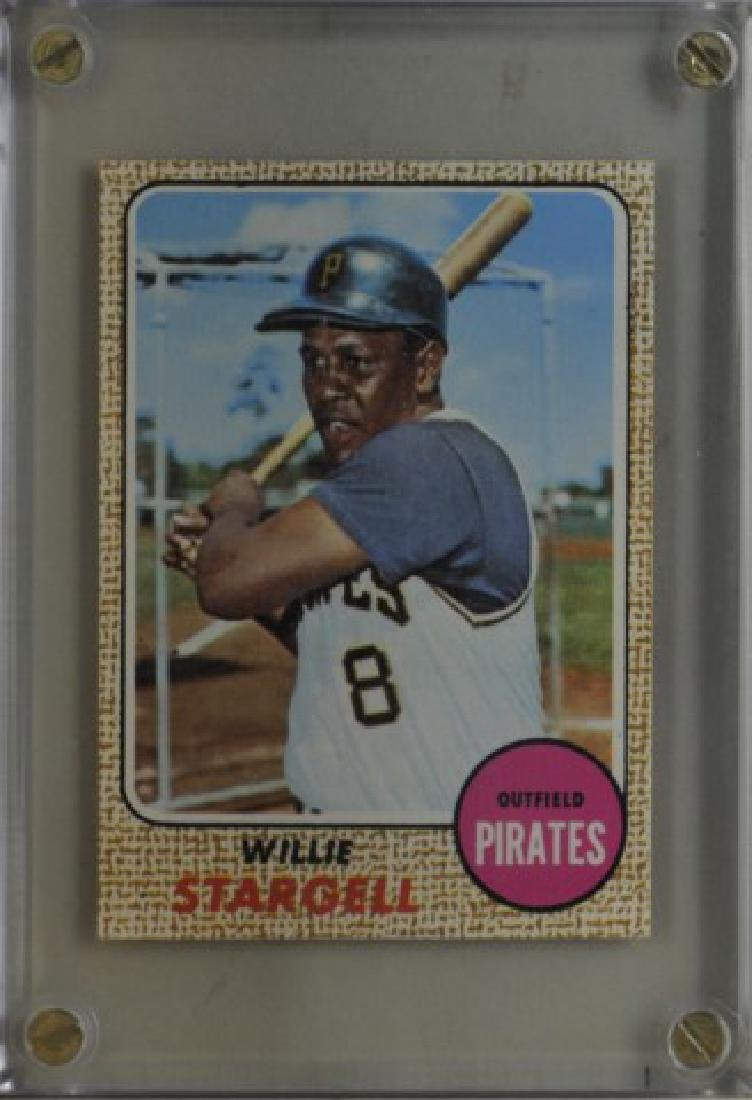 1968 Willie Stargell Topps Baseball Card