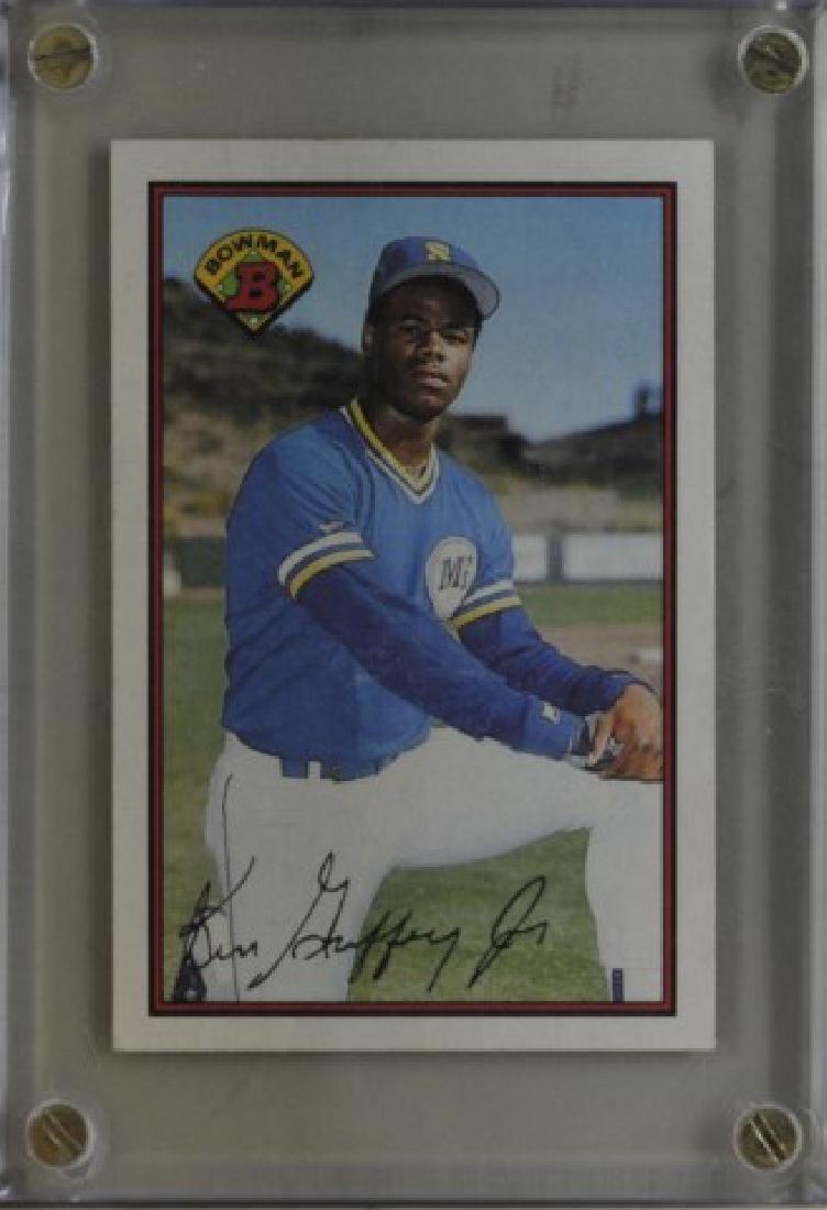1989 Ken Griffey Jr. Bowman Baseball Card