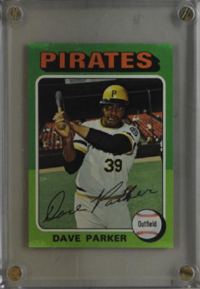 1975 Dave Parker Topps Baseball Card