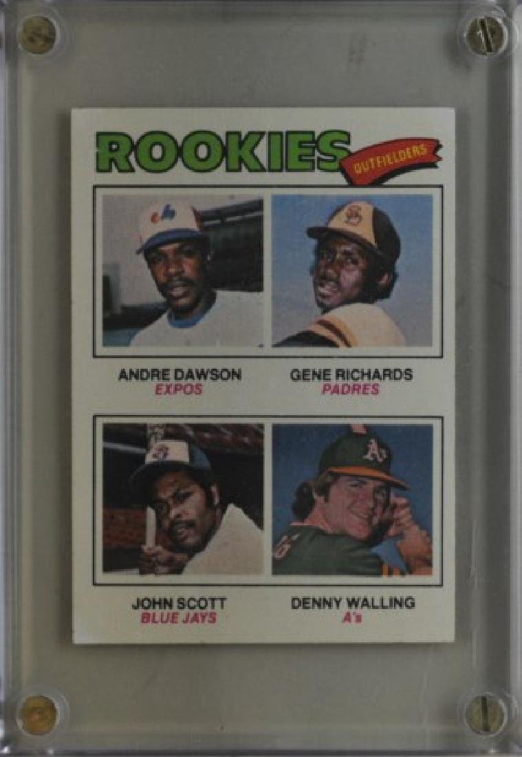 Dawson, Richards, Scott, Walling Topps Card