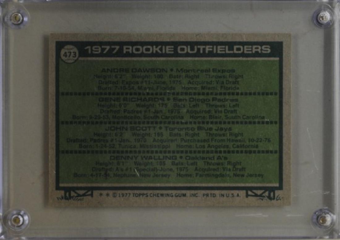 Dawson, Richards, Scott, Walling Topps Card - 2