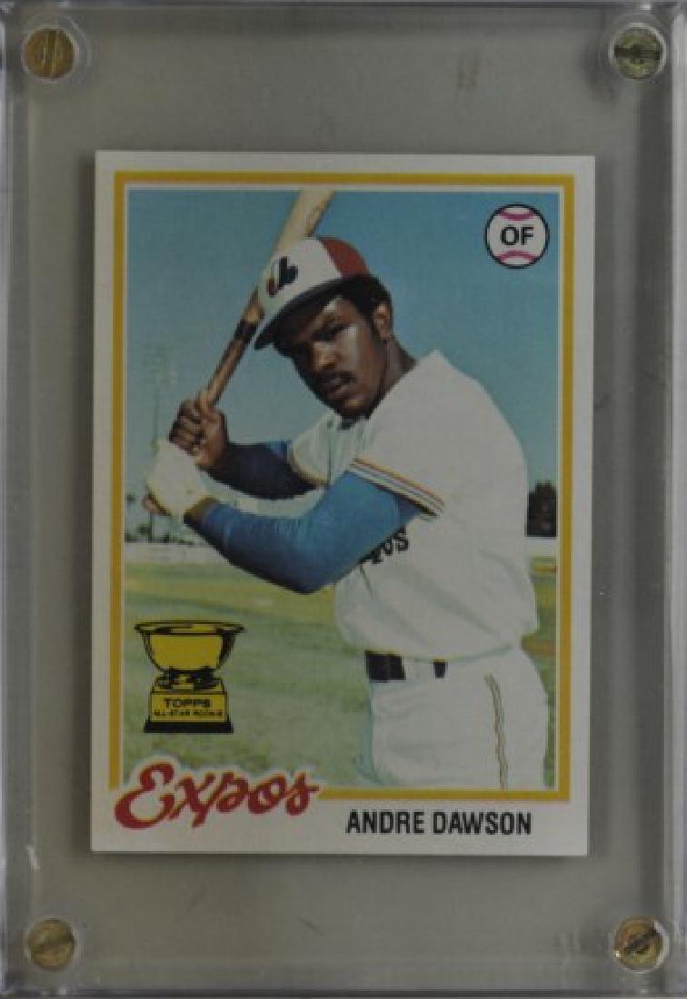 1978 Andre Dawson Topps Baseball Card