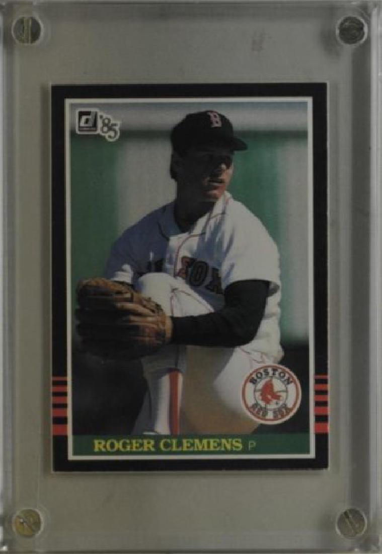 1985 Roger Clemens Donruss Baseball Card