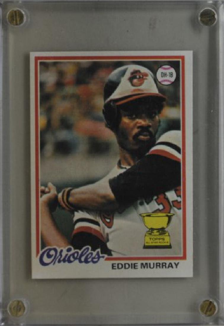 1978 Eddie Murray Topps Baseball Card