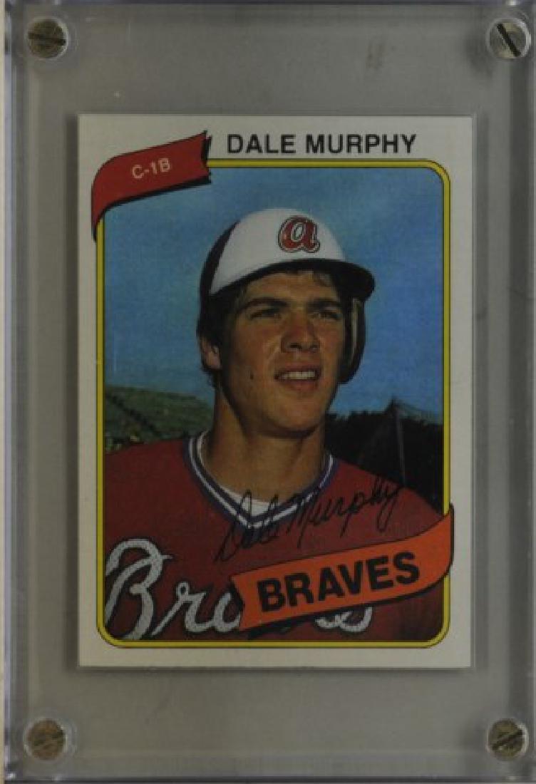 1980 Dale Murphy Topps Baseball Card