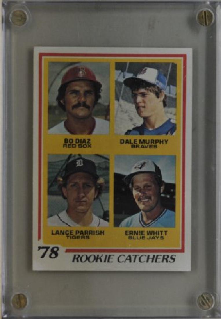 Diaz, Murphy, Parrish, Whitt Tops Baseball Card