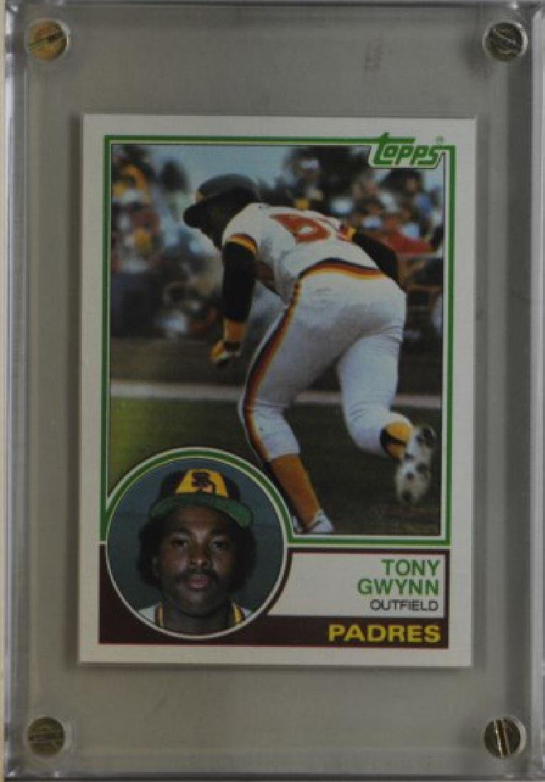 1983 Tony Gwynn Topps Baseball Card