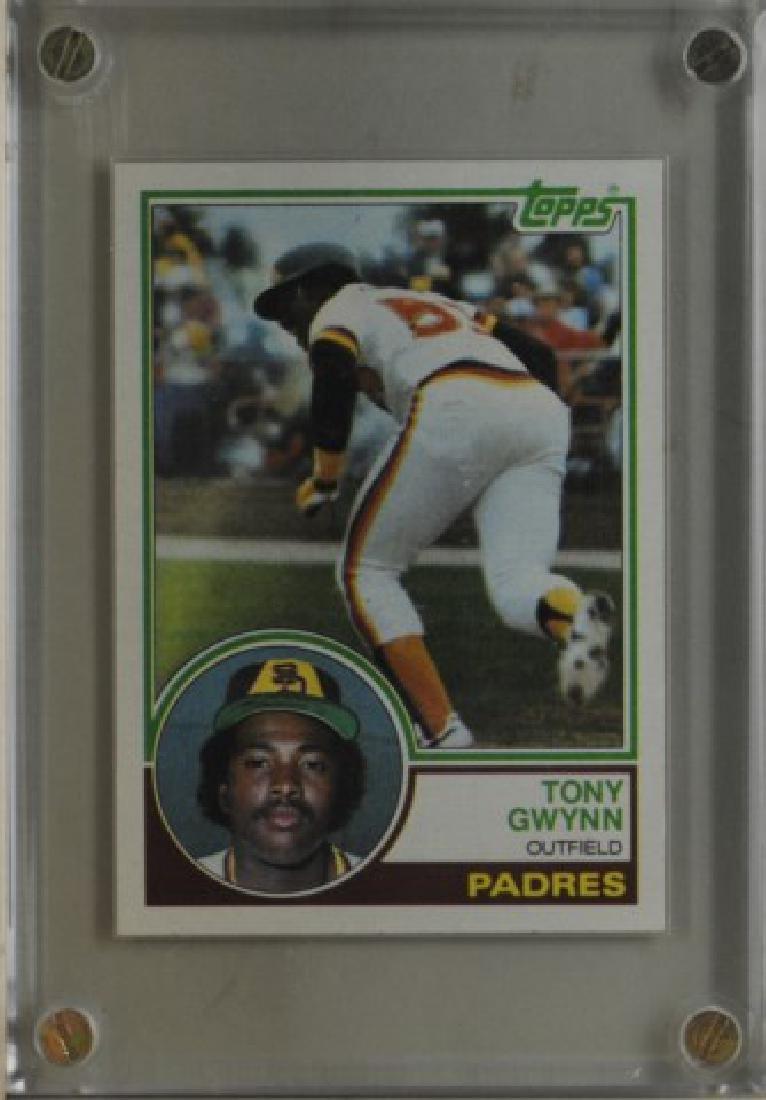 1983 Tony Gwynn Topps Baseball Card