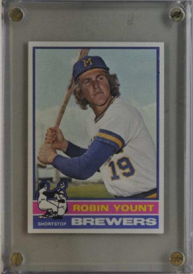1976 Robin Yount Topps Baseball Card