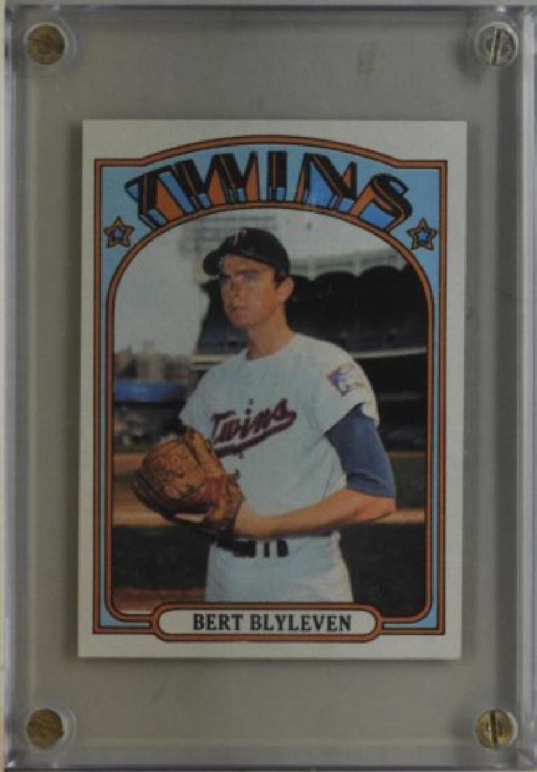 1972 Bert Blyleven Topps Baseball Card