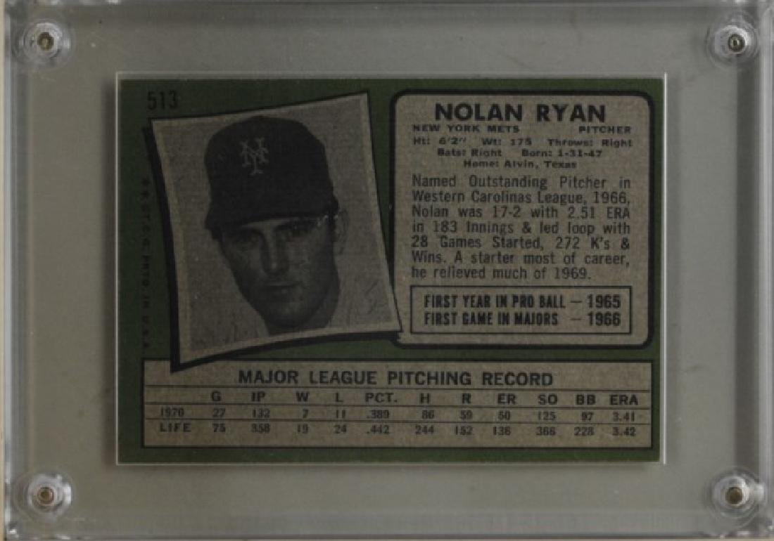 1971 Nolan Ryan Topps Baseball Card - 2