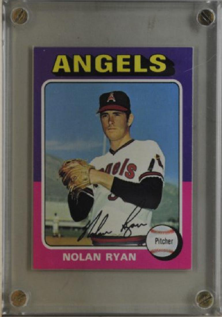 1975 Nolan Ryan Topps Baseball Card