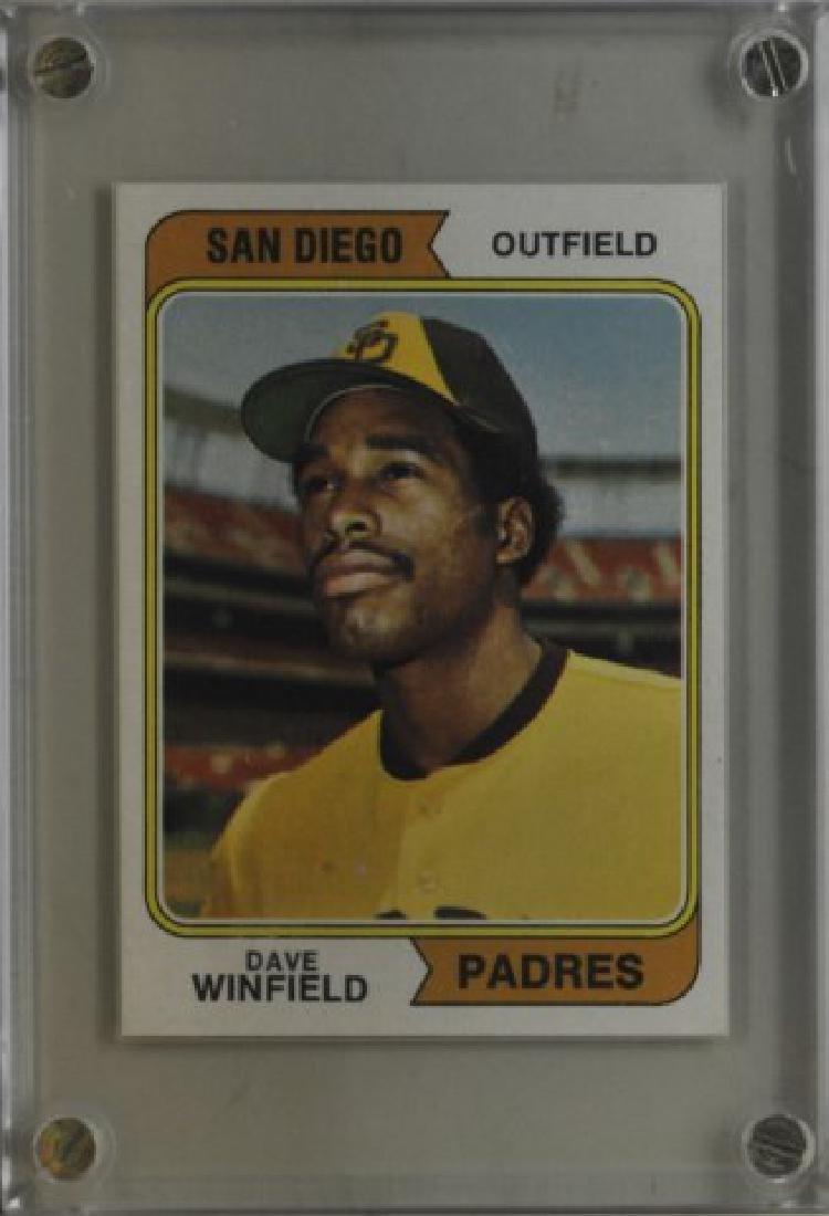 1974 Dave Winfield Topps Baseball Card