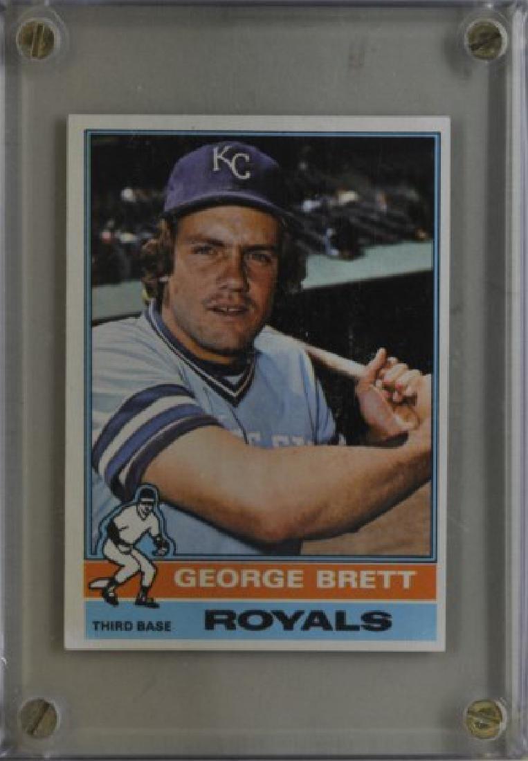 1976 George Brett Topps Baseball Card